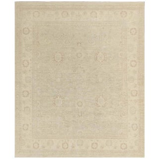 Pasargad NY Hand-Knotted Farahan Area Rug - 8′ × 9′5″