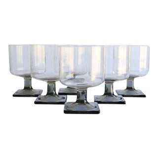 Mid-Century Modern Glasses - Set of 6