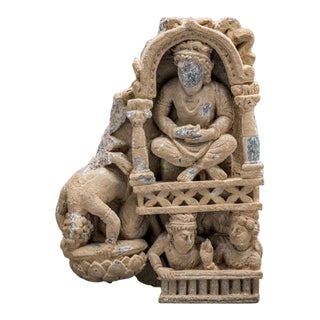 Gandharan Schist Fragment of a Frieze For Sale