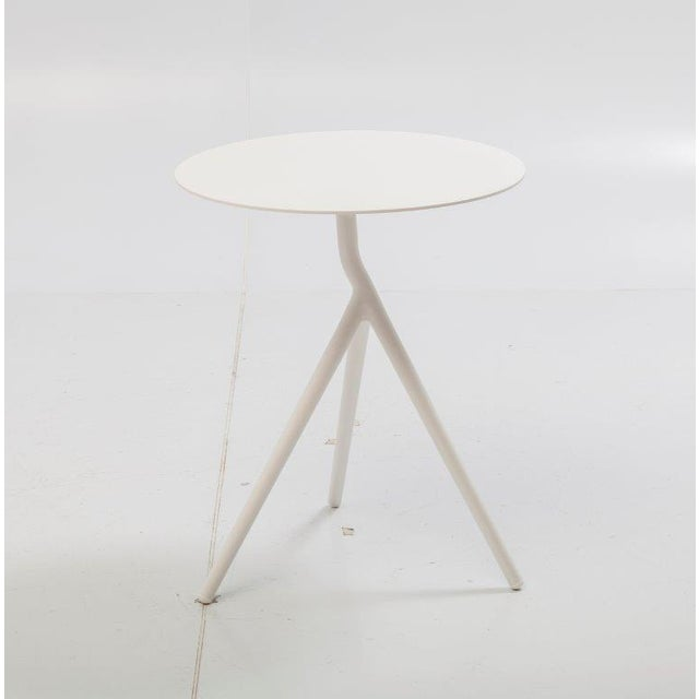 Modern design side table outdoor that also fits inside your interior. These modern design side tables are made of aluminum...