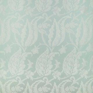 Sample, Suzanne Tucker Home Jacqueline Linen Blend Jacquard in Celadon
