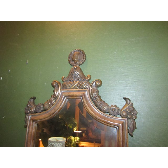 Vintage Mirror Back Wall Sconces - A Pair - Image 5 of 6