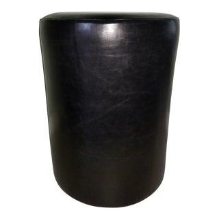 Modern Custom Upholstered Stool For Sale
