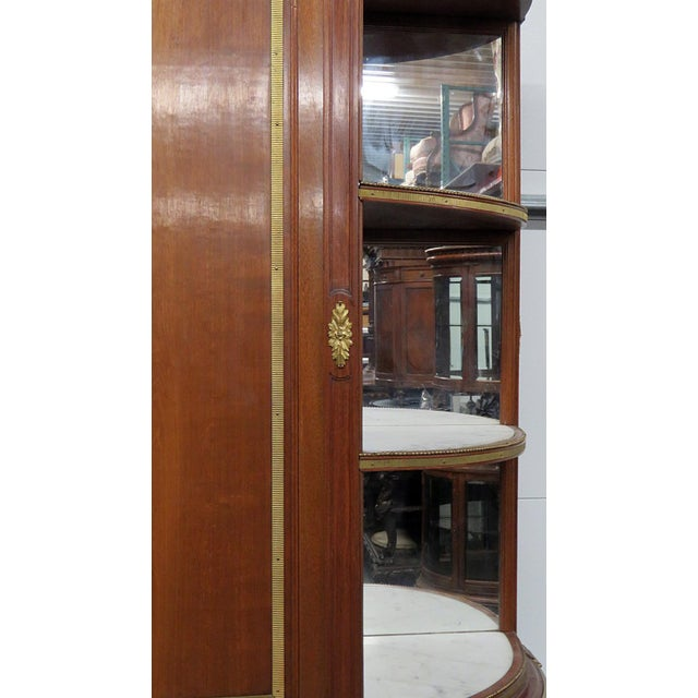 Late 19th Century 19thC Directoire Style China Cabinet For Sale - Image 5 of 11