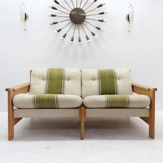 1970's Vintage Bernt Petersen Loveseat Sofa For Sale - Image 12 of 12