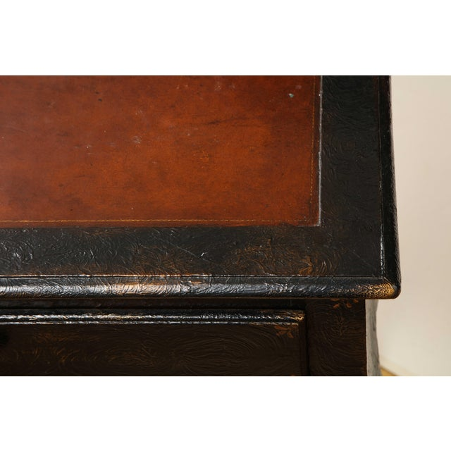Brown Painted Louis XV Style Console Table For Sale - Image 8 of 13