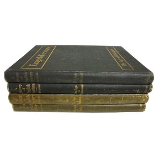 History of Furniture Books - Set of 4