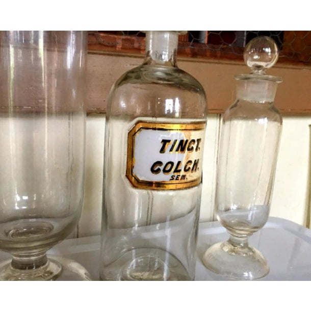 WR Warner Victorian Apothecary Jars - Set of 3 - Image 4 of 6