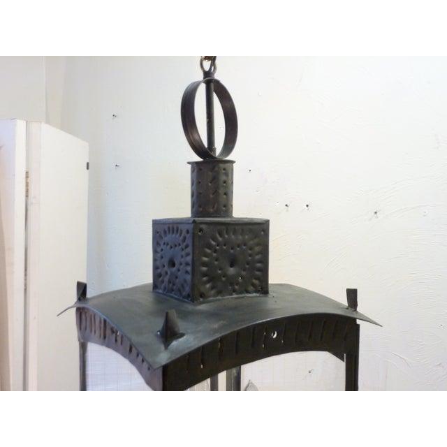 American Tin Lantern For Sale In Boston - Image 6 of 8