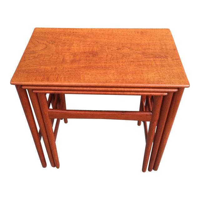 Hans Wegner Nesting Tables - Set of 3 - Image 1 of 11