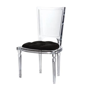 Global Views Marilyn Acrylic Side Chair