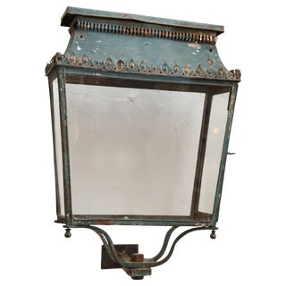Louis XVI Wall Lantern For Sale