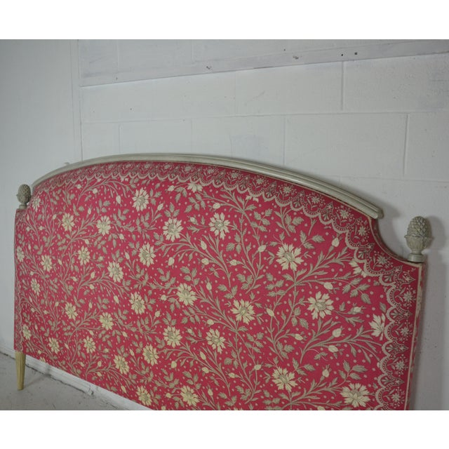 Louis XVI King Size Bed Headboard For Sale - Image 4 of 7