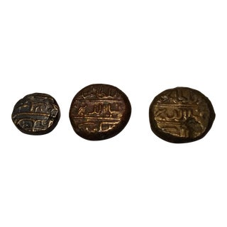 18th Century Maldivian Coins - Set of 3 For Sale