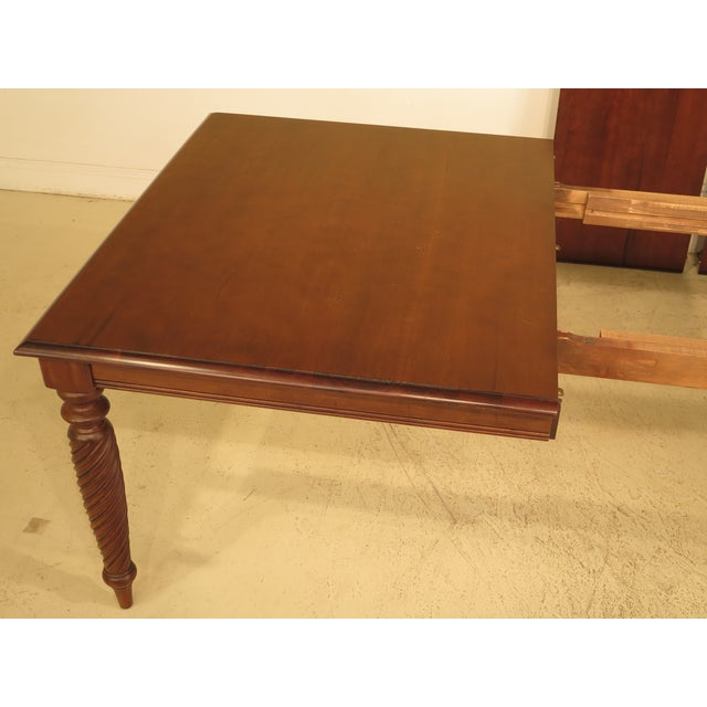 Ethan Allen British Classics Dining Table | Chairish