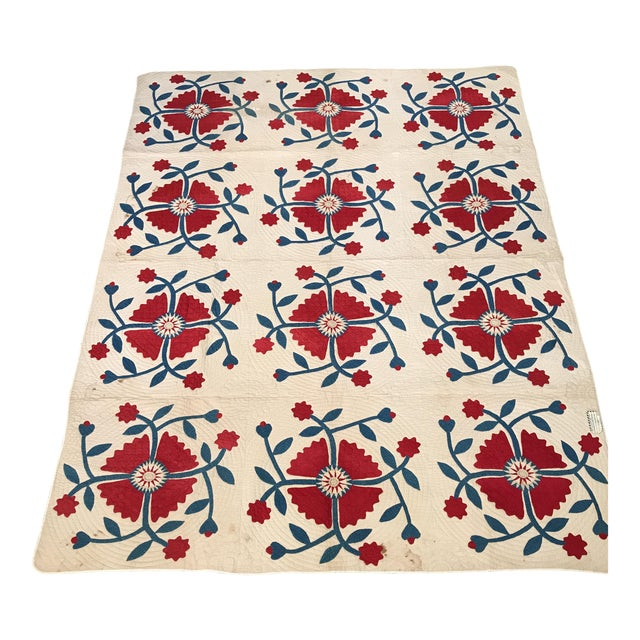 Vintage American Classic Quilt - Image 1 of 9