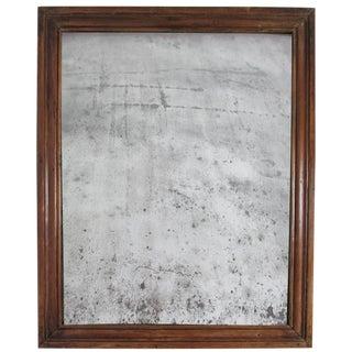 19th Century French Mercury Glass Mirror