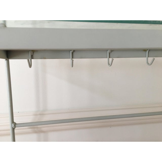 1960s 1960's Vintage Woodard White Bakers Rack For Sale - Image 5 of 7