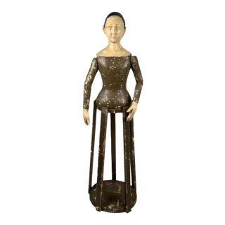 19th Century Spanish Santos (Saint) Cage Doll For Sale