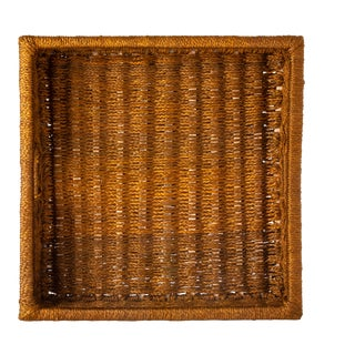 Large Square Sisal Tray Tobacco For Sale