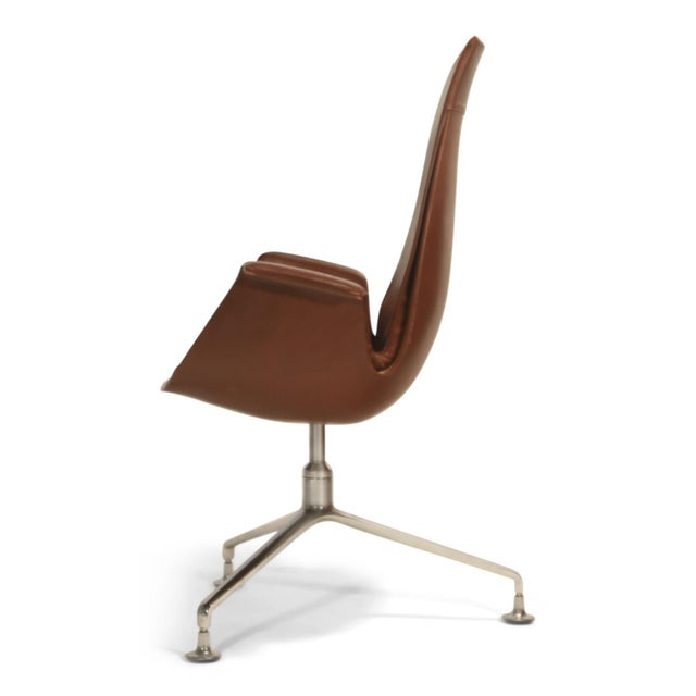 Fk 6725 'Bird' Chair by Preben Fabricius and Jorgen Kastholm for Alfred Kill For Sale - Image 12 of 13