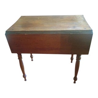 1800's Louis XV Drop Leaf Side Table