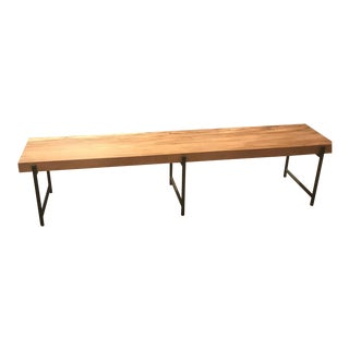 Modern Brown Coffee Table For Sale