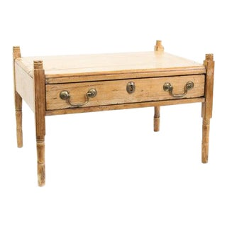 Early 19th Century Miniature Pine One Drawer Table For Sale