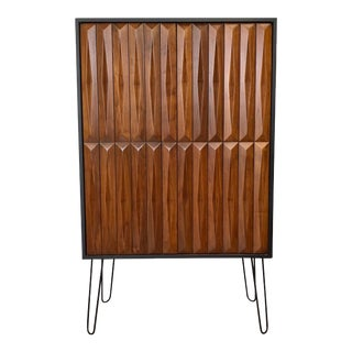 1960's Mid Century Modern Armoire For Sale