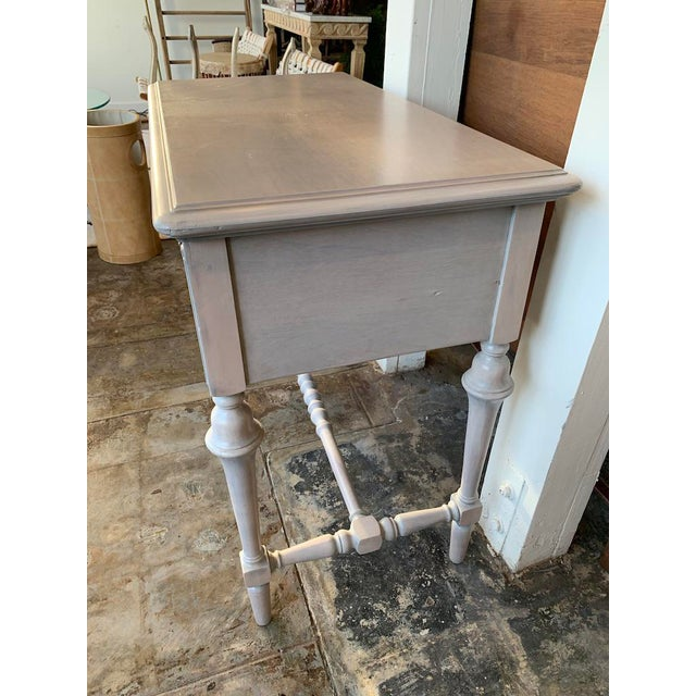 1920s Victorian Petite Desk or Vanity For Sale - Image 4 of 9