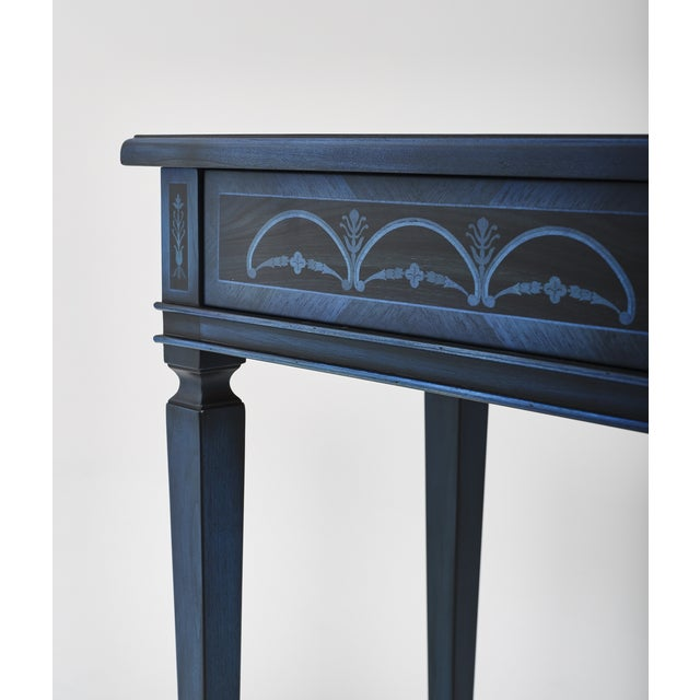 Italian Marquetry Accent Table For Sale - Image 4 of 8