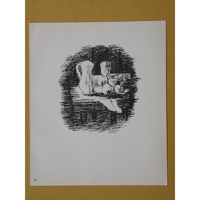 Mid 20th C. Modern Lithograph-Georges Braque - Image 3 of 3