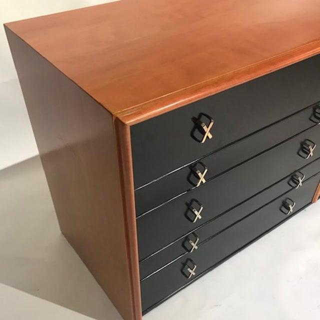 Paul Frankl for Johnson Furniture John Stuart Ten Drawer X Pull Dresser Chest For Sale In New York - Image 6 of 8