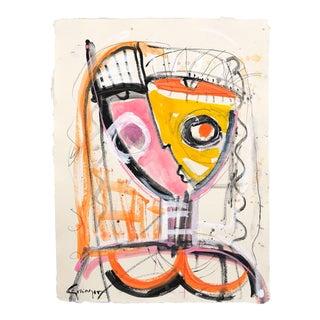 """Kissing the Sunshine"" Original Artwork by Lesley Grainger For Sale"