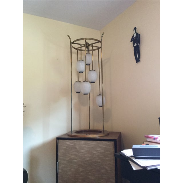 Mid-Century Modern Six Light Lamp - Image 9 of 9