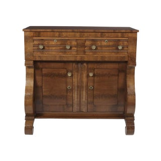 19th Century American Empire Mahogany Butlers Desk For Sale