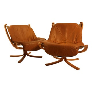 Sigurd Ressel Falcon Chairs for Vatne Mobler