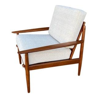 1960s Danish Modern Teak Lounge Chair by Arne Vodder for Glostrup For Sale