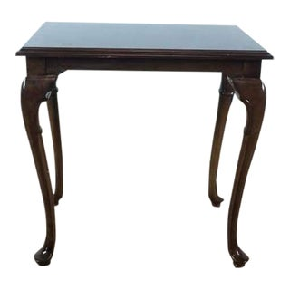 Contemporary Shaker Style Wood End Table