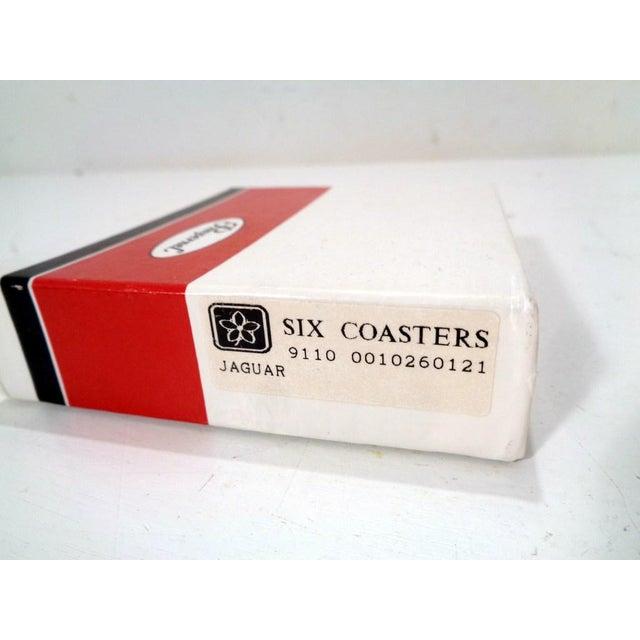 Mid-Century Modern Vintage Pimpernel Lynn Chase Jaguar Drink Coasters- S/6 For Sale - Image 3 of 9