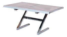 Image of Chrome Dining Tables