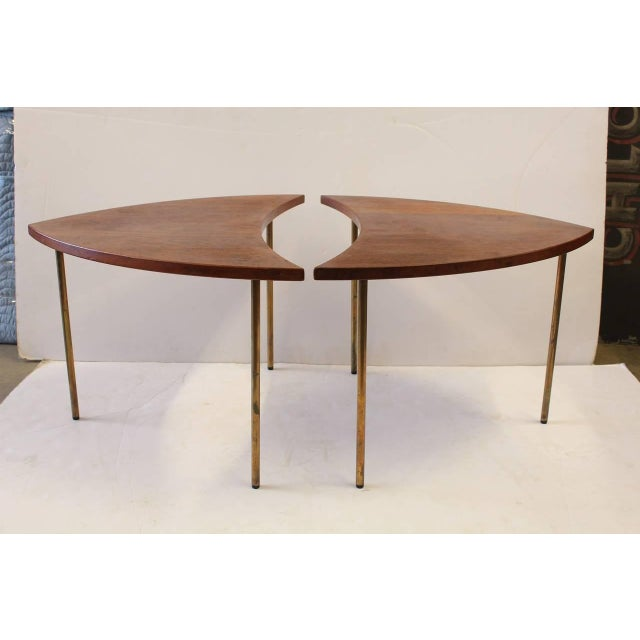 Mid-Century Danish side tables by Peter Hvidt for John Stewart. They are signed.