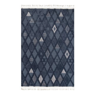 "Momeni Odessa Adorjan Denim 3'11"" X 5'11"" Area Rug For Sale"
