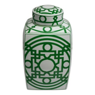 Bungalow 5 Jasper Jar Urn - Green For Sale