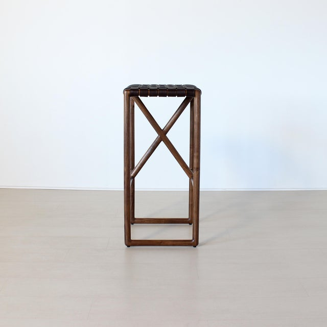 Not Yet Made - Made To Order Montgomery Stool For Sale - Image 5 of 8