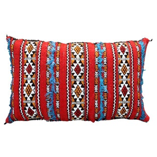 Tattoo-Design Moroccan Pillow For Sale
