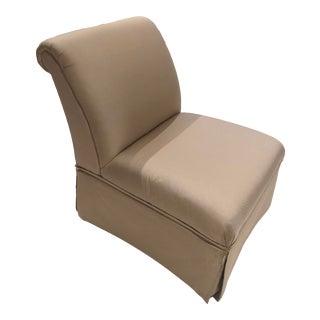 1990s Vintage Baker Slipper Chair For Sale