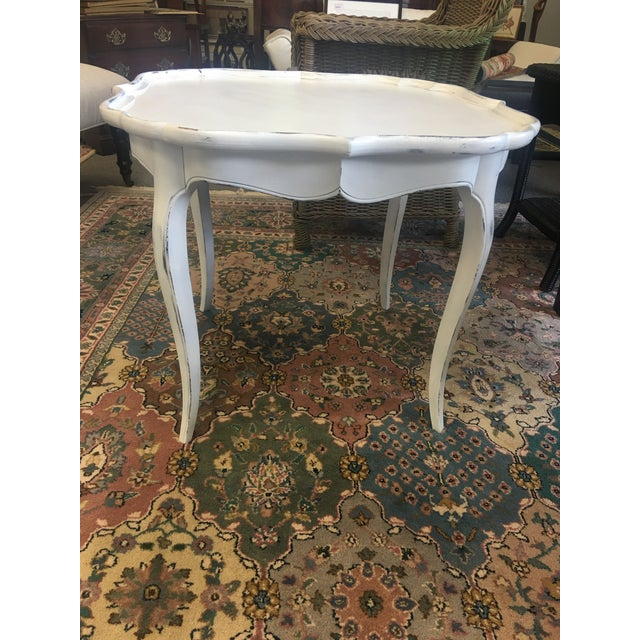 French White Coffee Table - Image 2 of 6