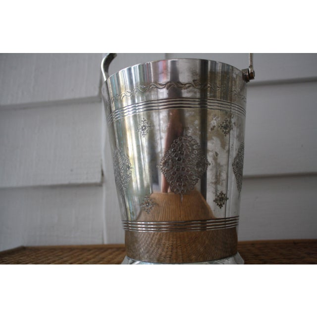Moorish Style Silver Ice Bucket - Image 10 of 11