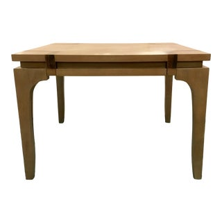 Vanguard Co. Modern Square Wood Game Table For Sale